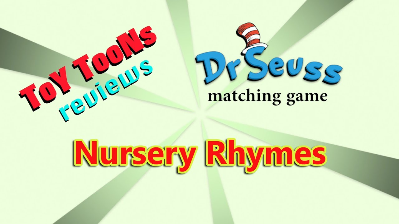 Nursery Rhymes Playlist And Dr Seuss