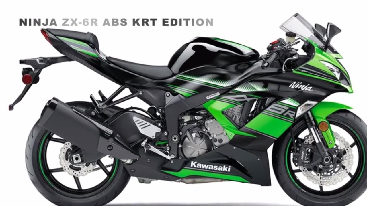 2017 Kawasaki Ninja Zx 6r Abs Krt Edition World Supersport Championship Technology
