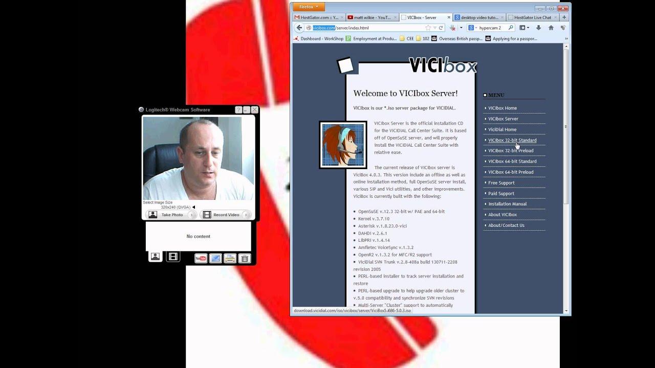 Vicidial Tutorial - Installing Vici-Box onto a server