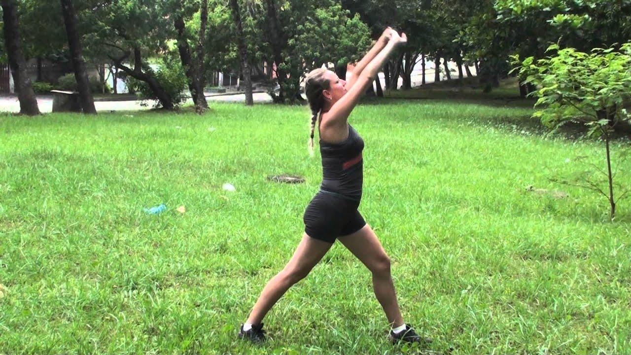 Muito Sequencia de alongamento pré treino ao ar livre - YouTube II85