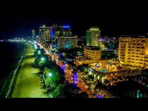 Ơi Nha Trang Thành phố mênh mông,  Bừng sáng phương Đông, Đàn chim yến về (DJI Flycam Phantom 3 4K)
