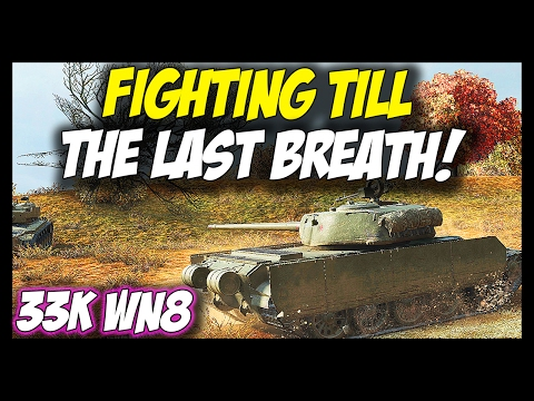 ► Fighting Till The Last Breath! - World of Tanks T-44-100 Gameplay Mp3