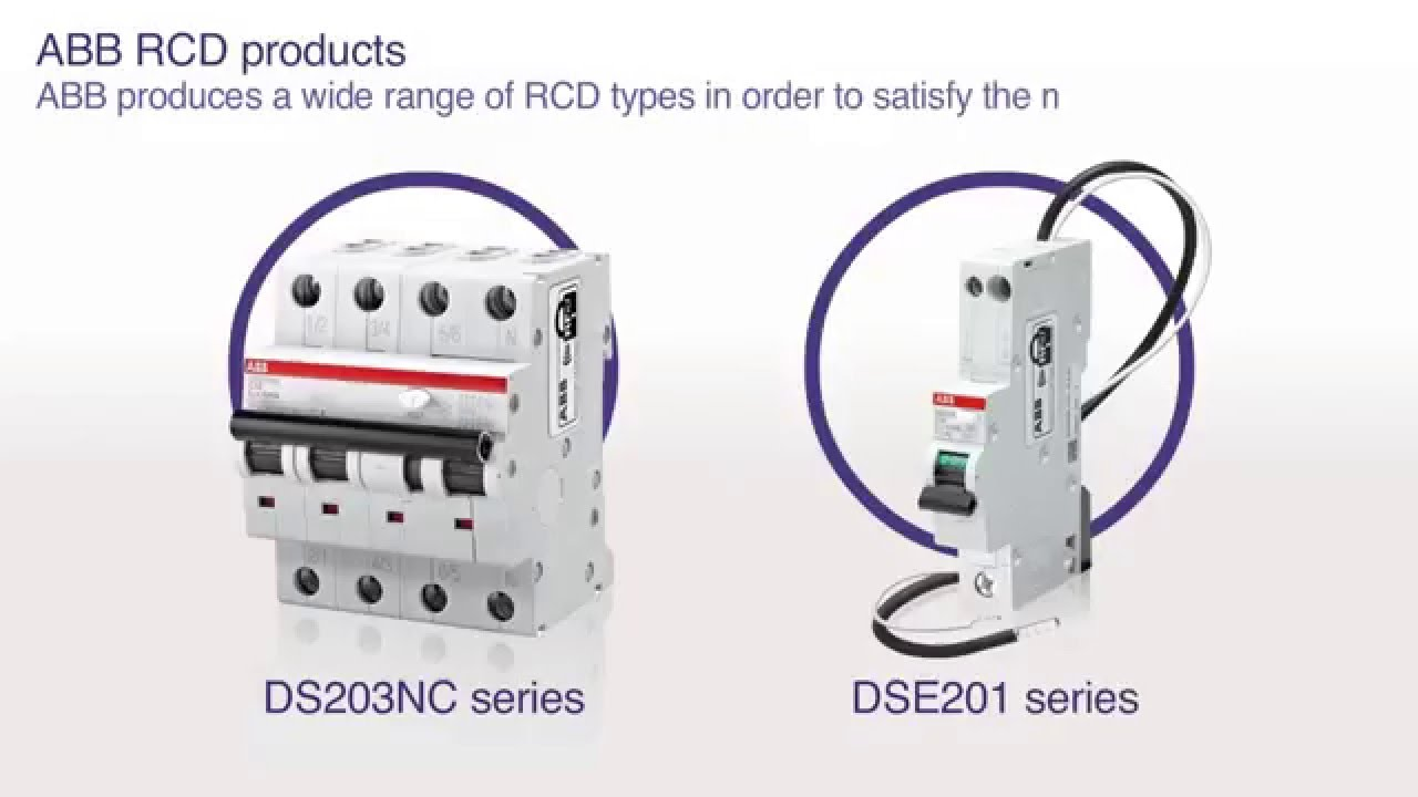 Abb Garage Nugget 13 How Does A Residual Current Device Rcd Soft Starter Wiring Diagram Work