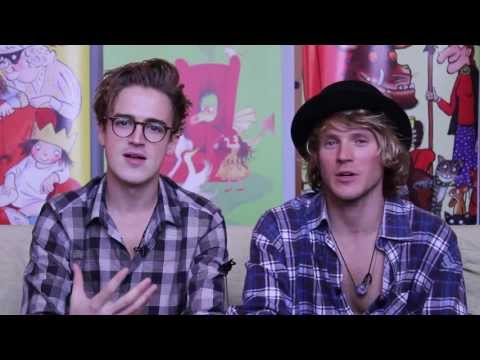 Tom Fletcher and Dougie Poynter introduce The Dinosaur That Pooped A Planet