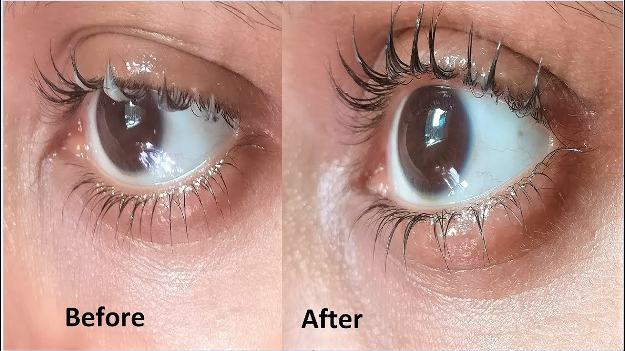 apply coconut oil to grow long eyelashes fast | thick eyelashes
