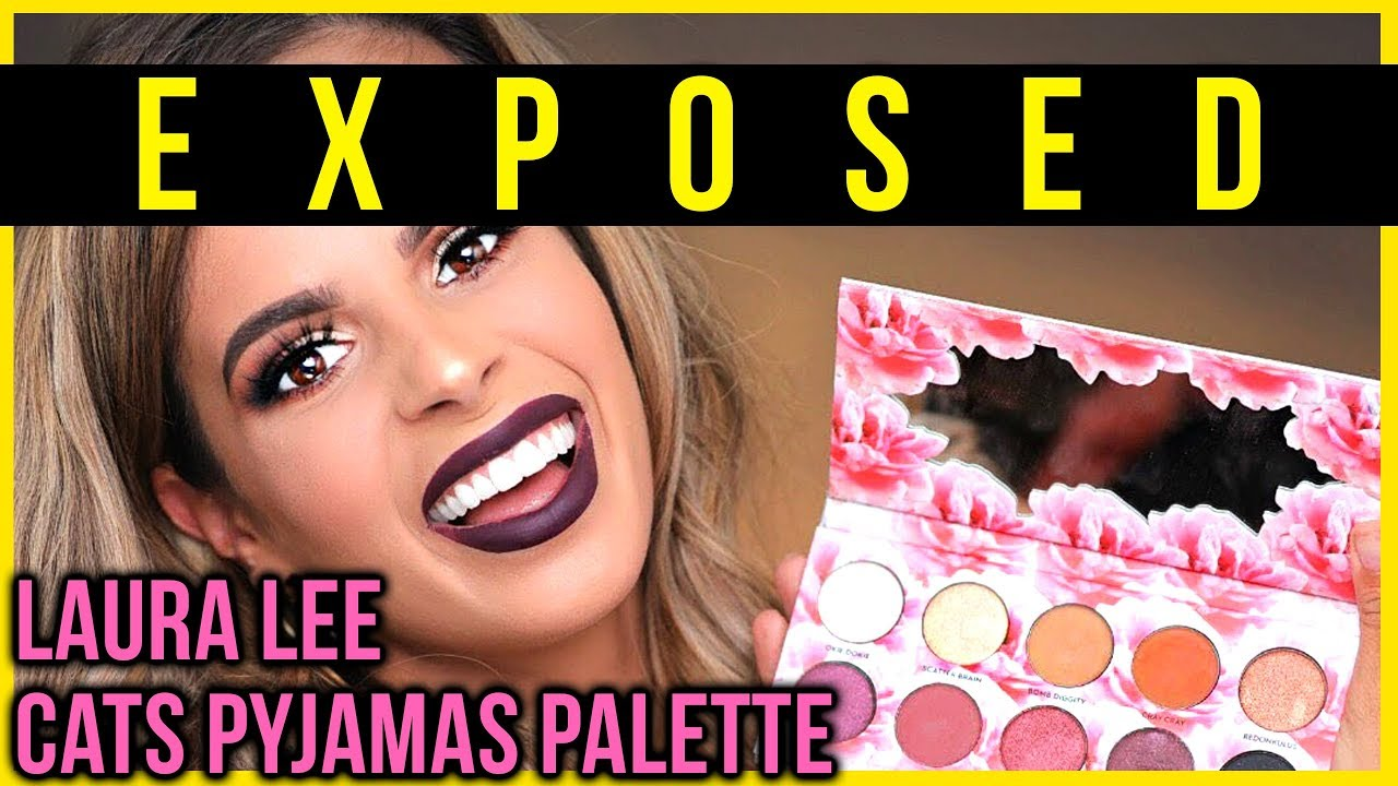 LAURA LEE CAT'S PAJAMAS PALETTE EXPOSED| WILL IT LOLLIPOP ...