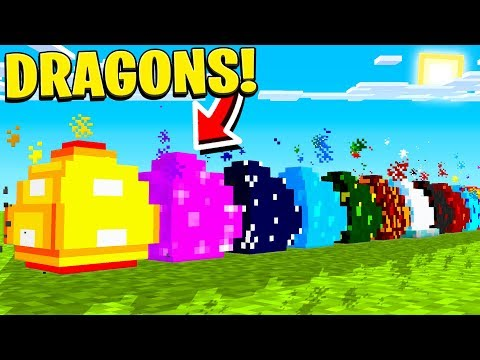 HATCHING 10 *NEW* MINECRAFT DRAGON EGGS! thumbnail