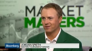 Masters Champion Jordan Spieth: I'm Aggressive, Young, Fearless