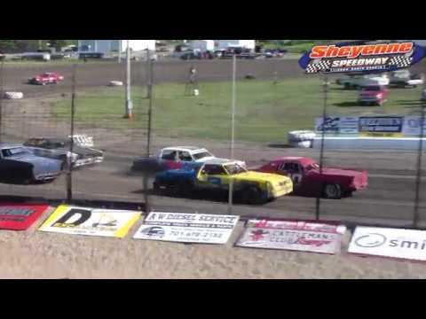 Sheyenne Speedway Hobby Stock Races (6/10/18)
