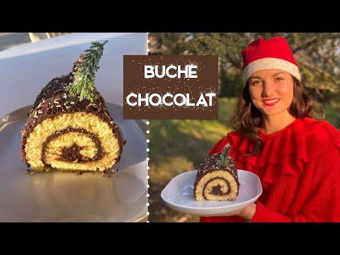 bûche-de-noël-au-chocolat-🍫