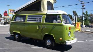 1977 VW Volkswagon Westfalia Camper bus RV For Sale