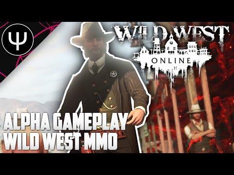 Wild West Online — Alpha Gameplay Wild West MMO!