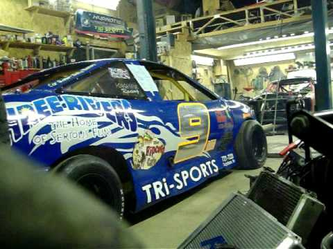 My Race Car Running In The Garage 2 Ohv Cavalier