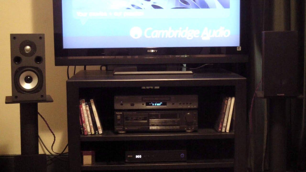 Speaker Audition Review Fluance SV10S 2 Way Bookshelf Speakers HQ Stereo 4