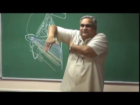 Lecture on Upper Extremity Anatomy Revision by Dr G.K Singh at AIIMS Patna