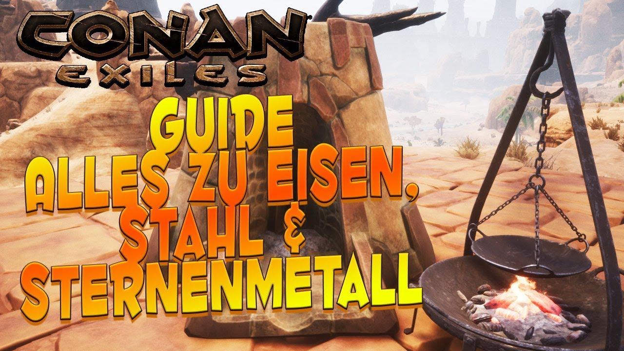 Conan Exiles Stahl