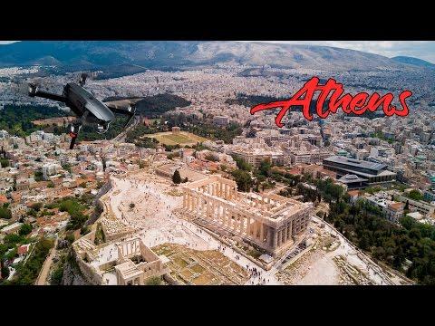 Parthenon - Athens with Dji Mavic Pro