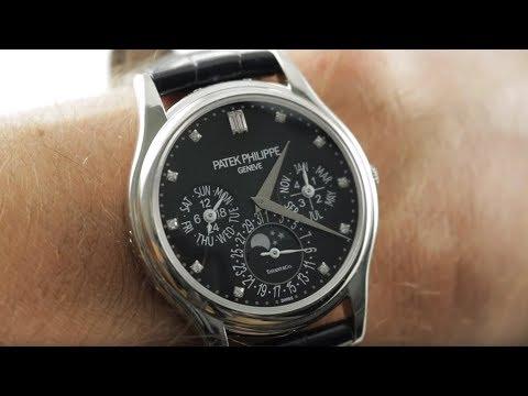"Patek Philippe 5140P Perpetual Calendar ""Tiffany Dial"" (5140P-013) Luxury Watch Review"