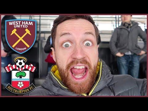 BIGGEST GAME OF THE SEASON! - WEST HAM vs SOUTHAMPTON (Premier League 2017/18)