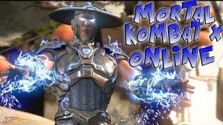 Mortal Kombat X Online - THUNDER GOD MURDERS THE SERIAL KILLER!