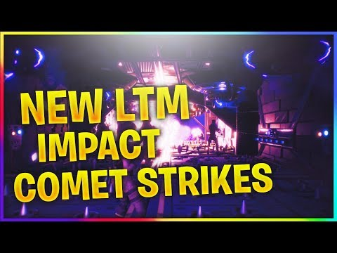NEW GAME MODE IMPACT //  FORTNITE BATTLE ROYALE // LIMITED TIME MODE LTM COMETS