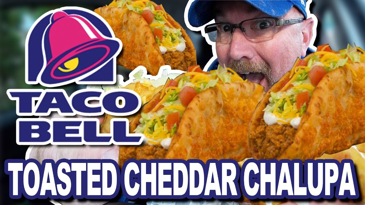 BEST ITEM EVER from TACO BELL!!! ???????? TOASTED CHEDDAR CHALUPA • Chicken vs Beef