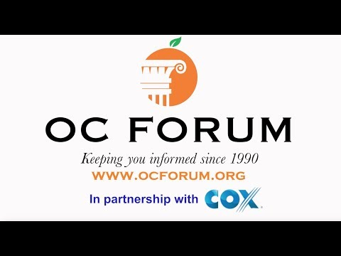 The OC Forum Partners with COX Communications for their new PSA