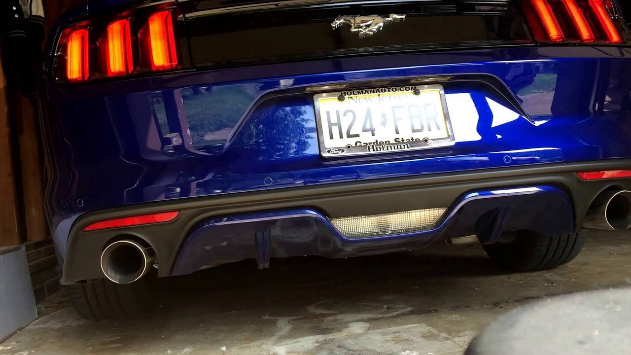 all you need for an ecoboost mustang muffler delete