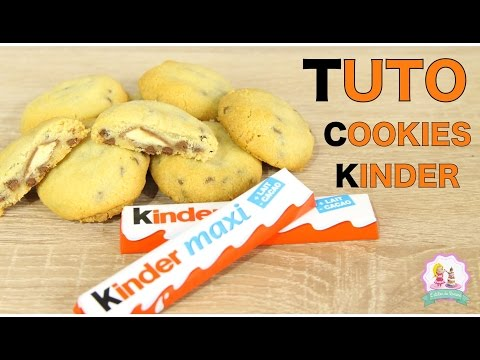 ♡•-recette-cookies-au-kinder---facile-et-rapide-•♡