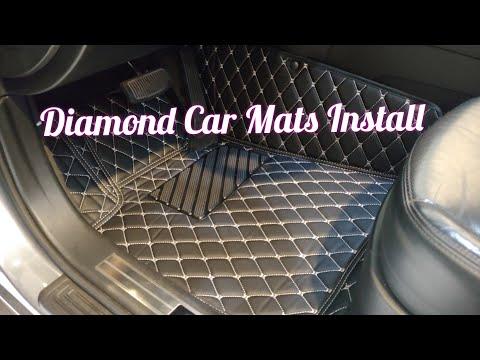 Diamond Car Mats Install And Review - Best Car Mats On The Market?