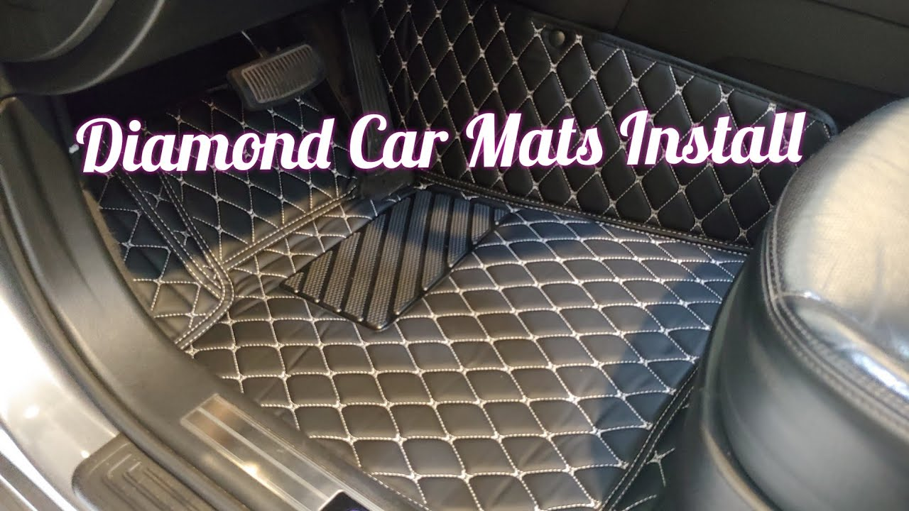 Diamond Car Mats Install And Review Best Car Mats On The Market Youtube