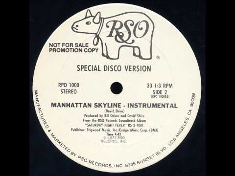 David Shire - Manhattan Skyline (1977) vinyl