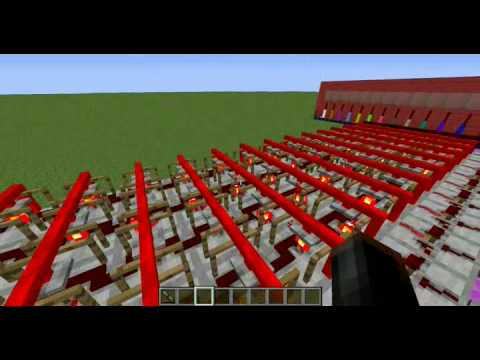 Minecraft Redpower Logic Computer