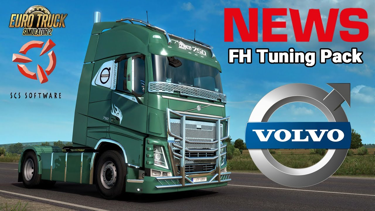 ETS2 VOLVO Tuning DLC NEWS 🚨 FH Tuning Pack First Look