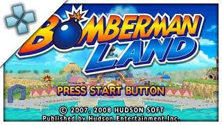 Bomberman Land - PSP Gameplay (PPSSPP) 1080p