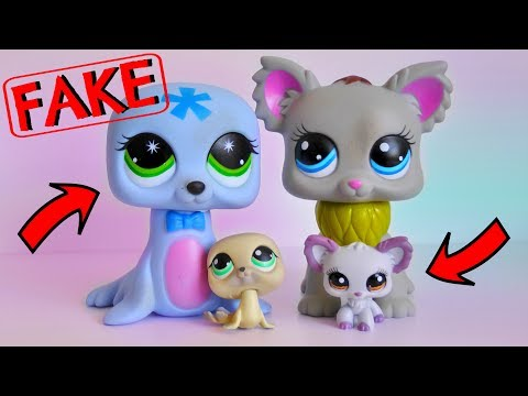 GIANT FAKE LPS?! || Fake Littlest Pet Shop (Found In Australia) || LPS Mail Time ❤