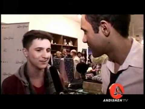 "Mitchel Musso Interview at ""Q"" Jewelry Line Launch Party"