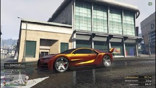 Крутая окраска ( Смешанный Закат ) GTA online