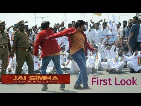 Balakrishna Jai Simha Movie Working Still...