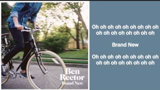 Brand New Lyrics - Ben Rector