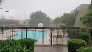 August 3, 2017 storm. Tempe, AZ.