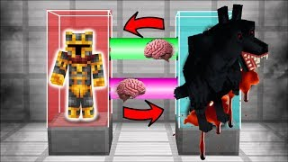 SWAPPING LIVES WITH A WEREWOLF IN MINECRAFT !! MC NAVEED MORPHS INTO A WEREWOLF !! Minecraft
