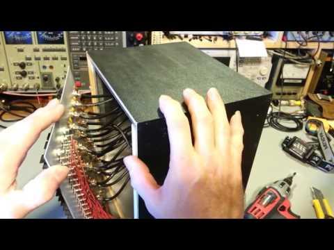 Rare vintage Amco CB20 radio antenna, speaker, power switch box.