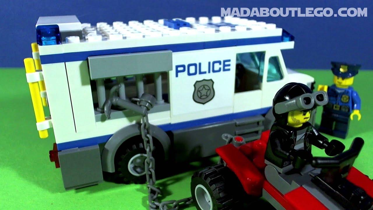 LEGO CITY PRISONER TRANSPORT 60043 - YouTube