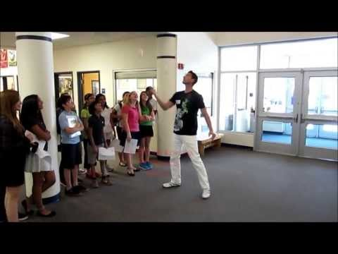 PJuggle Visits Nysmith School For The Gifted