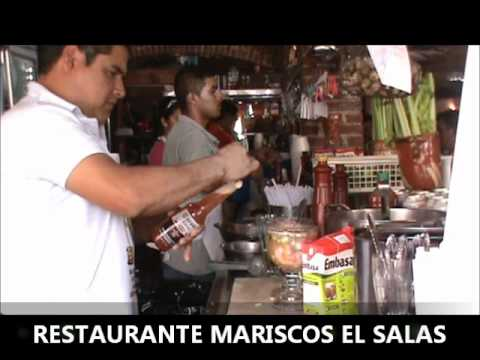 Restaurante mariscos el youtube for El salas restaurante
