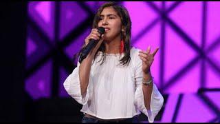 Vicky Corbacho sorprendió al jurado con su voz