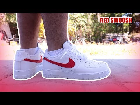 Nike air force 1 low flavors swoosh pack all star 2018 AF1 white color details review