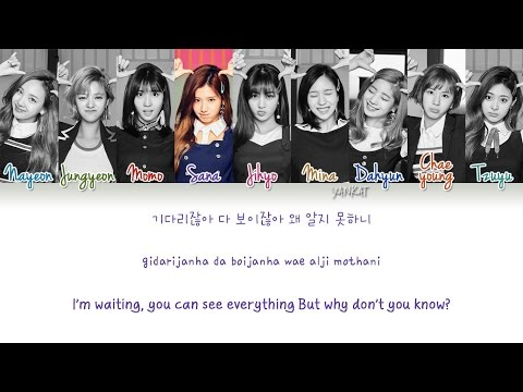 TWICE - SIGNAL (Color Coded Han|Rom|Eng Lyrics) | by Yankat