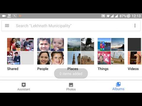 How to create Video Movie from Google Photos App